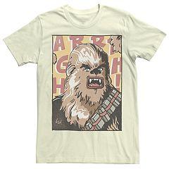 Men's Star Wars Comic Chewbacca Graphic Tee