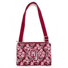 Oklahoma Sooners Quilted Purse