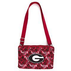 Georgia Bulldogs Quilted Purse