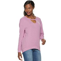 Women's Juicy Couture Cutout Sweatshirt