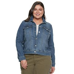 Plus Size EVRI Jean Jacket