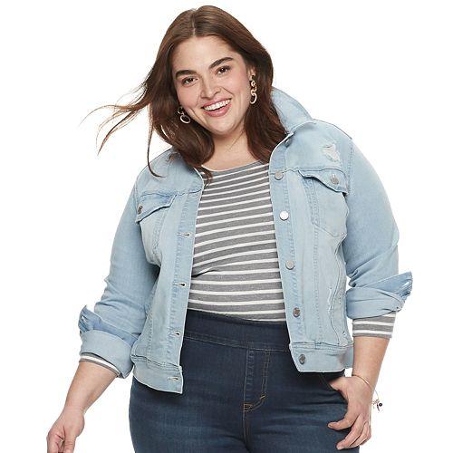 Plus Size EVRI Jean Jacket
