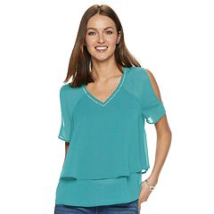 c5f790b47 Women s Juicy Couture Double Layer Top