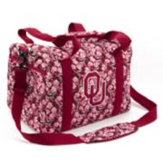 Oklahoma Sooners Quilted Duffel Bag