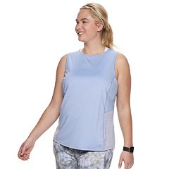 Plus Size Tek Gear® Notch Back Performance Tank