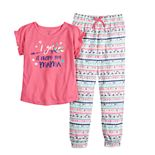 "Girls 4-16 Jammies For Your Families Mommy & Me ""Got It From My Mama"" Top & Bottoms Pajama Set by Cuddl Duds"