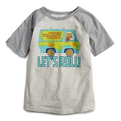 Boys 4-12 Jumping Beans® Scooby-Doo Mystery Machine 'Let's Roll' Raglan Graphic Tee
