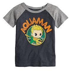Toddler Boy Jumping Beans® Aquaman Raglan Graphic Tee