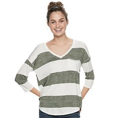 Juniors' SO® Striped Rugby Tunic Tee
