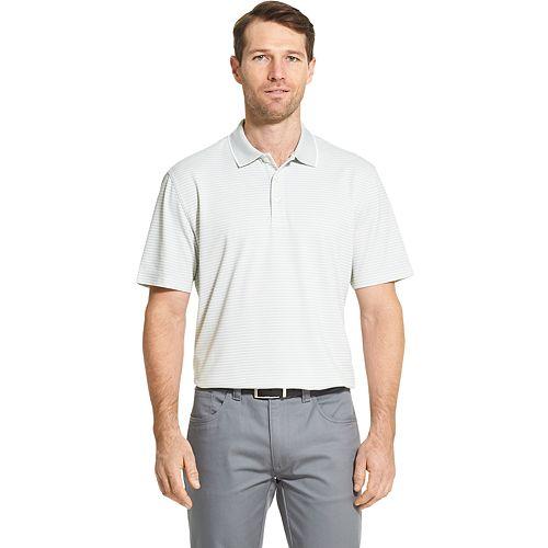 Men's Van Heusen Traveler Classic-Fit Colorblock Stretch Polo