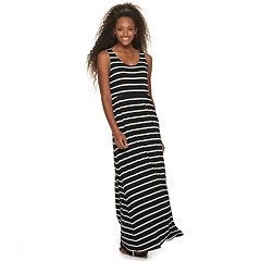 e1561fd8fefd Juniors' SO® Scoop Neck Maxi Dress