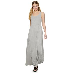 Juniors' SO® Scoop Neck Maxi Dress