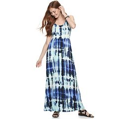 Juniors' SO® Scoop Neck Maxi Dress