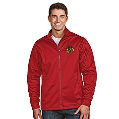 Men's Antigua Chicago Blackhawks Golf Jacket
