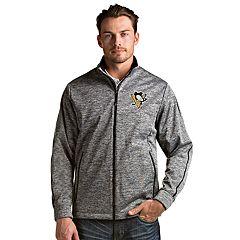 Men's Antigua Pittsburgh Penguins Golf Jacket