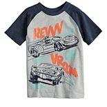 Boys 4-12 Jumping Beans® Race Cars Raglan Graphic Tee