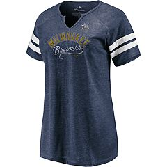 298a08adaa0e06 Women s Milwaukee Brewers Perfect Score Tee