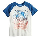 Boys 4-12 Jumping Beans® Monster Truck Raglan Tee
