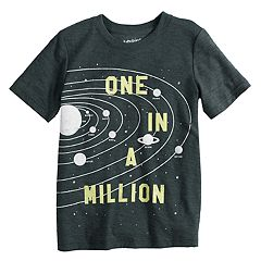 Boys 4-12 Jumping Beans® 'One in a Million' Solar System Outer Space Tee