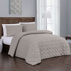 Embossed Jess 3-piece Comforter Set
