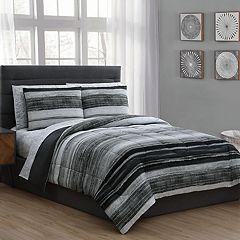 Laken 7-piece Reversible Bedding Set