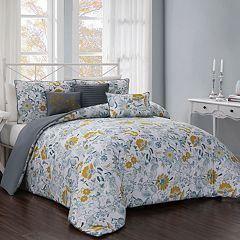 Vernazza 6-piece Reversible Comforter Set