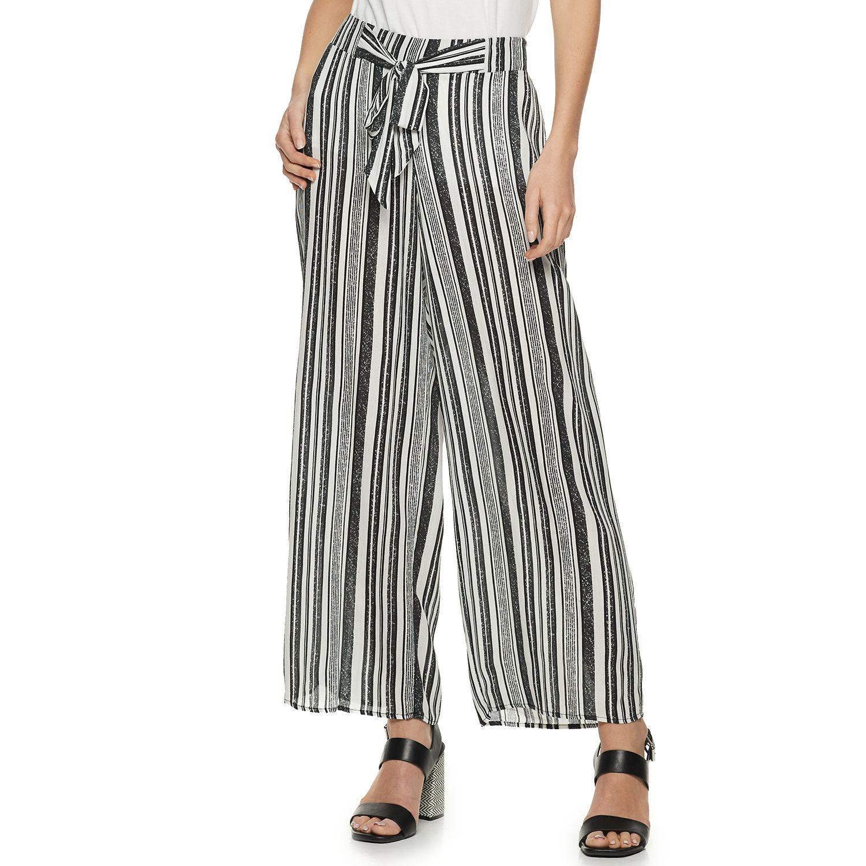 Women's ELLE™ Crepon Palazzo Pants