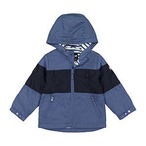 ed9688d69848 Toddler Boy OshKosh B gosh® Striped Hooded Midweight Jacket