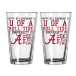 Boelter Alabama Crimson Tide Spirit Pint Glass Set