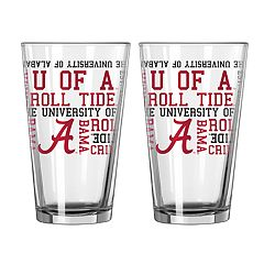 Boelter Alabama Crimson Tide Spirit Pint Glass Set