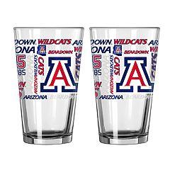 Boelter Arizona Wildcats Spirit Pint Glass Set