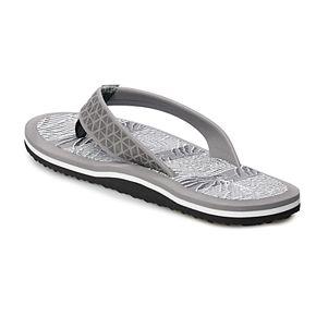 Men's Panama Jack Palm Leaf Thong Flip-Flops