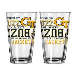 Boelter Georgia Tech Yellow Jackets Spirit Pint Glass Set