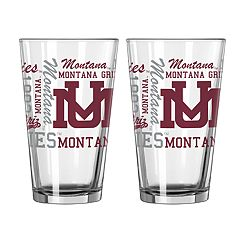 Boelter Montana Grizzlies Spirit Pint Glass Set