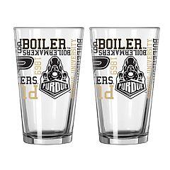 Boelter Purdue Boilermakers Spirit Pint Glass Set