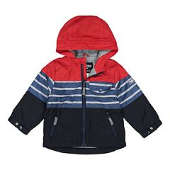 6adb9ce5e345 Toddler Boy OshKosh B gosh® Striped Hooded Midweight Jacket