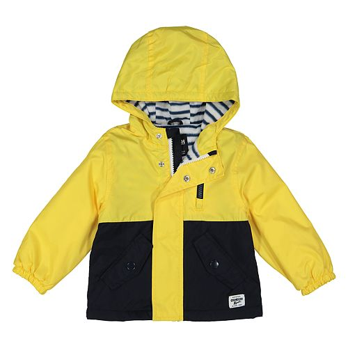Toddler Boy OshKosh B'gosh® Colorblock Hooded Midweight Jacket
