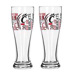 Boelter Cincinnati Bearcats Spirit Pilsner Glass Set