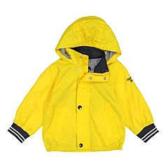 9925d997e936 Toddler Boy OshKosh B gosh® Striped Cuffs Hooded Varsity Lightweight Jacket