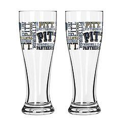 Boelter Pitt Panthers Spirit Pilsner Glass Set