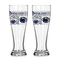Boelter Penn State Nittany Lions Spirit Pilsner Glass Set