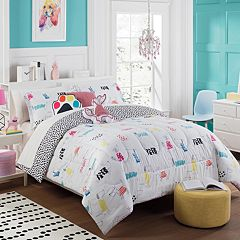 Waverly Kids Adogable Reversible Comforter Set