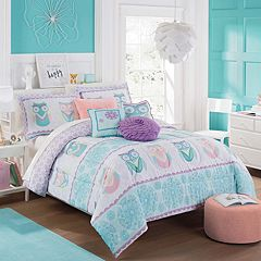 Waverly Kids Hoo Dreams Reversible Comforter Set