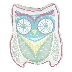 Waverly Kids Hoo Dreams Owl Novelty Decorative Pillow