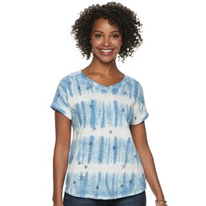 a6dcaf07bf744a Women s SONOMA Goods for Life™ Side-Knot Dolman-Sleeve Tee
