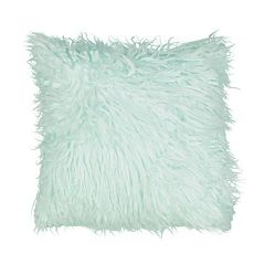 Waverly Kids La La Llama Faux Fur Decorative Pillow