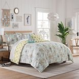 Waverly Spree Mapped Out Reversible Comforter Set