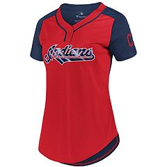 Women's Cleveland Indians League Diva Top