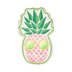 Waverly Spree Copacabana Pineapple Novelty Decorative Pillow