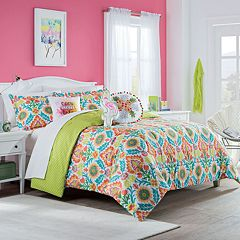 Waverly Spree Santa Maria Reversible Comforter Set